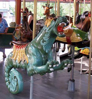 The Herschell-Spillman Carousel