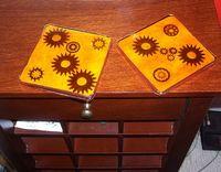 steampunk coasters